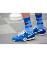 Diamonds Light Blue Socks - $8.40