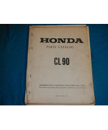 1967-1970 67 68 69 70 HONDA CL90 CL 90 PARTS MANUAL BOOK CATALOG - $156.85