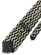 New Kenneth Cole New York Tie Black, Olive Silk Men's Neck Tie - $13.95