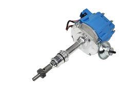SBF Ford 260 289 302 302W V8 Coil Hei Distributor 50000 50K Volt w/ Blue Cap image 6
