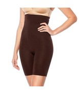 Yummie Seamless High-Waist Thigh Shaper in Coffee Bean, L/XL - $22.76