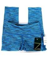 NWT Z By Zella Women Workout Pants XS Ombre Blue Voltage Leggings Capri ... - $34.94