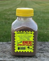 Bee Propolis 4oz 100% Pure Raw Powder Known As Anti- (Viral, Bacterial, Fungal) - $24.95