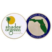 "DISNEY WORLD ORLANDO FLORIDA SHADES OF GREEN 1.75"" CHALLENGE COIN - $17.09"