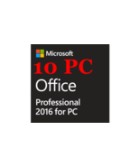 10 PC Genuine Microsoft Office 2016 Professional Plus Full Version key  - $129.89