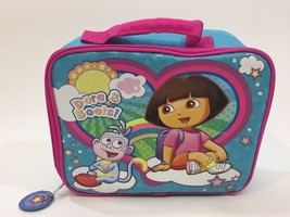 Dora The Expolorer Boots Insulated Lunch Box Bag Lunchbox - $5.00