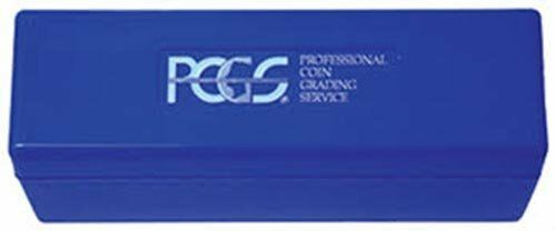NEW PCGS Blue Plastic Slabbed Coin Storage Box 20 Coin Slab Holder ANACS Fit Too