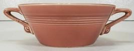 Homer Laughlin Harlequin Cream Soup Bowl, Rose - $18.99