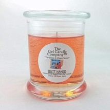 Butt Naked is a Tropical Scented Gel Candle Deco Jar - 12 oz. Clean and ... - €21,31 EUR