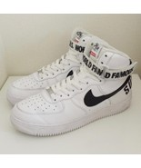 2014 supreme × nike sneakers air force 1 high white US9.5 - $1,009.80