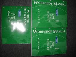 2008 ford f-150 f150 lincoln mark lt truck service repair workshop manual w - $217.75