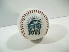 VINTAGE 1993 MLB FLORIDA MARLINS INAUGURAL BASEBALL LIMITED EDTION - $12.69