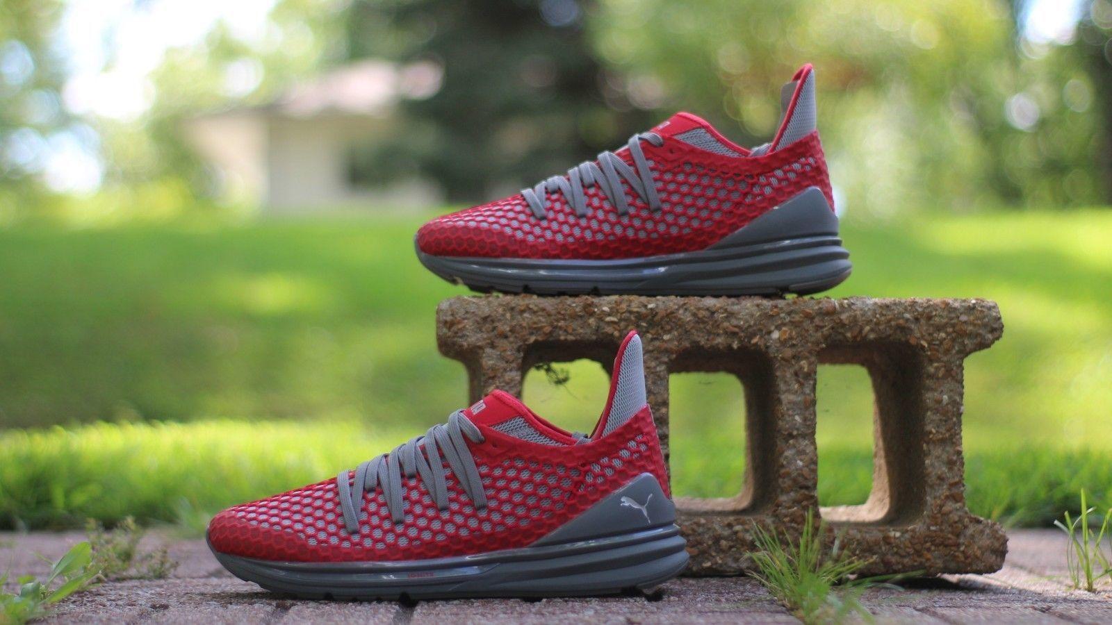 cf5463129f5f PUMA Men's Size 10 Ignite Limitless Netfit Sneaker 189983 02 Red