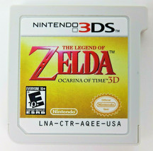 The Legend of Zelda: Ocarina of Time 3D (Nintendo 3DS, 2011) Cartridge Only - $13.77