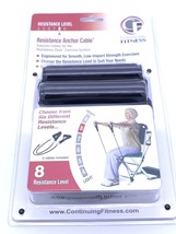 Exercise Cables Continuing Fitness Resistance Chair Anchor  Level 8 New ... - $23.76