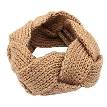 Girls Knitted Headband Knit Hairband Hair Band Headwrap Ear Warmer, Ligh... - $9.94