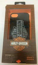 Harley-Davidson Venture Vertical B&S Logo iPhone 7 / 8 Phone Case - Black 9508 image 4
