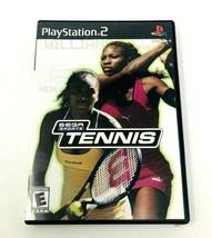 Sega Sports Tennis (Sony PlayStation 2, 2002) - $4.99