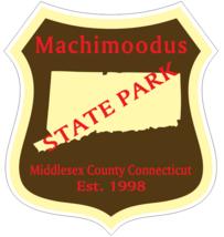 Machimoodus Connecticut State Park Sticker R6909 - $1.45+