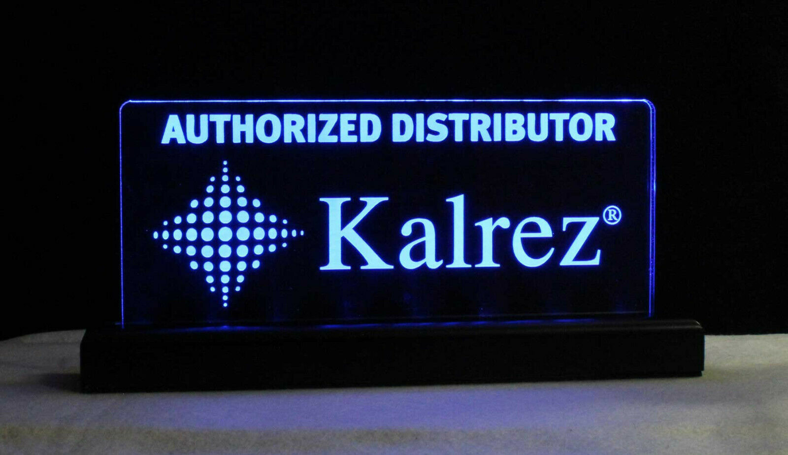LED Rechargeable Battery operated Name Plate, Custom Sign - Award - Trophy image 7