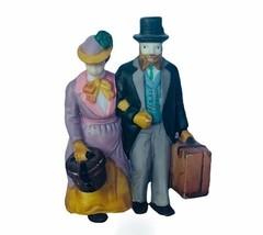 Department 56 Heritage snow village Christmas figurine 5571-9 holiday tr... - $16.40