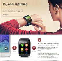 Samsung Galaxy gear S SM-R750 Curved AMOLED Smart Watch Black Wi-Fi No Box image 3