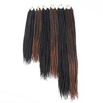 7Packs 22Inch Box Braids Crochet Braids Mambo Twist Braiding Hair 22roots Synthe image 6