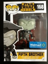 Funko POP! Star Wars Rebels FIFTH BROTHER 168 Walmart EXCLUSIVE - $13.99
