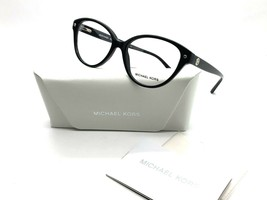 NEW MICHAEL KORS MK 4042 3177 SILVER / BLACK AUTHENTIC EYEGLASSES FRAME ... - $77.57