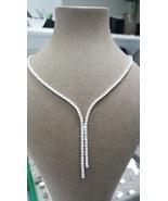 7.20Ct/VS2/F Round Cut Diamond Classic Necklace... - $11,000.00