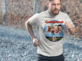 Caddyshack Dri Fit graphic T-shirt microfiber 80s movie golf UPF 50 Sun Shirt image 3