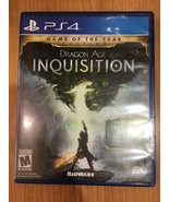 Dragon Age: Inquisition (Sony PlayStation 4, 2014) - $16.83