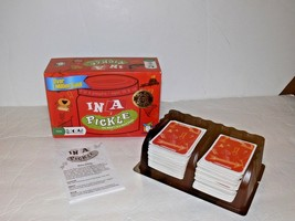 2004 IN A PICKLE Card Game by Gamewright Dr. Toy 10 Best Games Award Label - $8.50