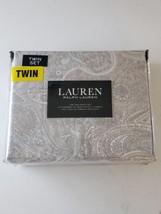 Ralph Lauren Twin Sheet Pillowcase Set - Paisley Pattern - Cotton - $46.52