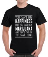 Marijuana Weed Smoke Happiness Funny Adult T Shirt - $20.99+
