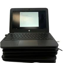"Lot Of (5) Hp Chromebook 11 G4 11.6"" V2W30UT N2840 2.16GHz 4/16GB RAM/SSD - $158.94"