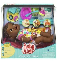 Baby Alive Changing Time Doll Drinks Wets Interactive Move 2010 Rare Ret... - $247.50