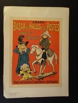 """ORIGINAL PRINT """"LES MAITRES DE L AFFICHE"""" JOUETS TOYS FERNEL 1895 #207 - $350.00"""