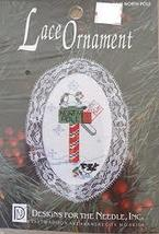 Desingns For The Needle Lace Ornament #1245 North Pole Mail Craft Kit - $16.99