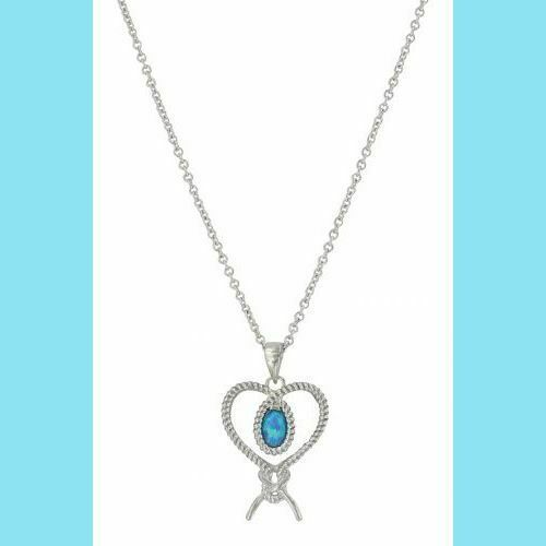 Montana Silversmiths Tied Up In My Heart Necklace