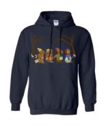 Jug Band Road Emmet Otter Christmas G185 Navy Hoodie 8 oz. - $32.50+