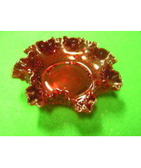 Great Vintage FENTON  Hobnail RUBY RED Candy/Nut Dish...........SALE - $21.78