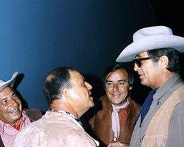 Robert Mitchum and Don Rickles at Hollywood party June 1974 Hollywood CA 16x20 C - $69.99