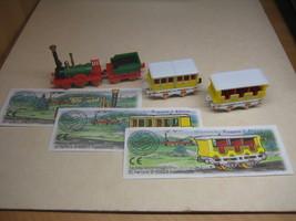 Kinder - 2000 Historischer zug - complete set + 3 papers - surprise eggs - $5.50