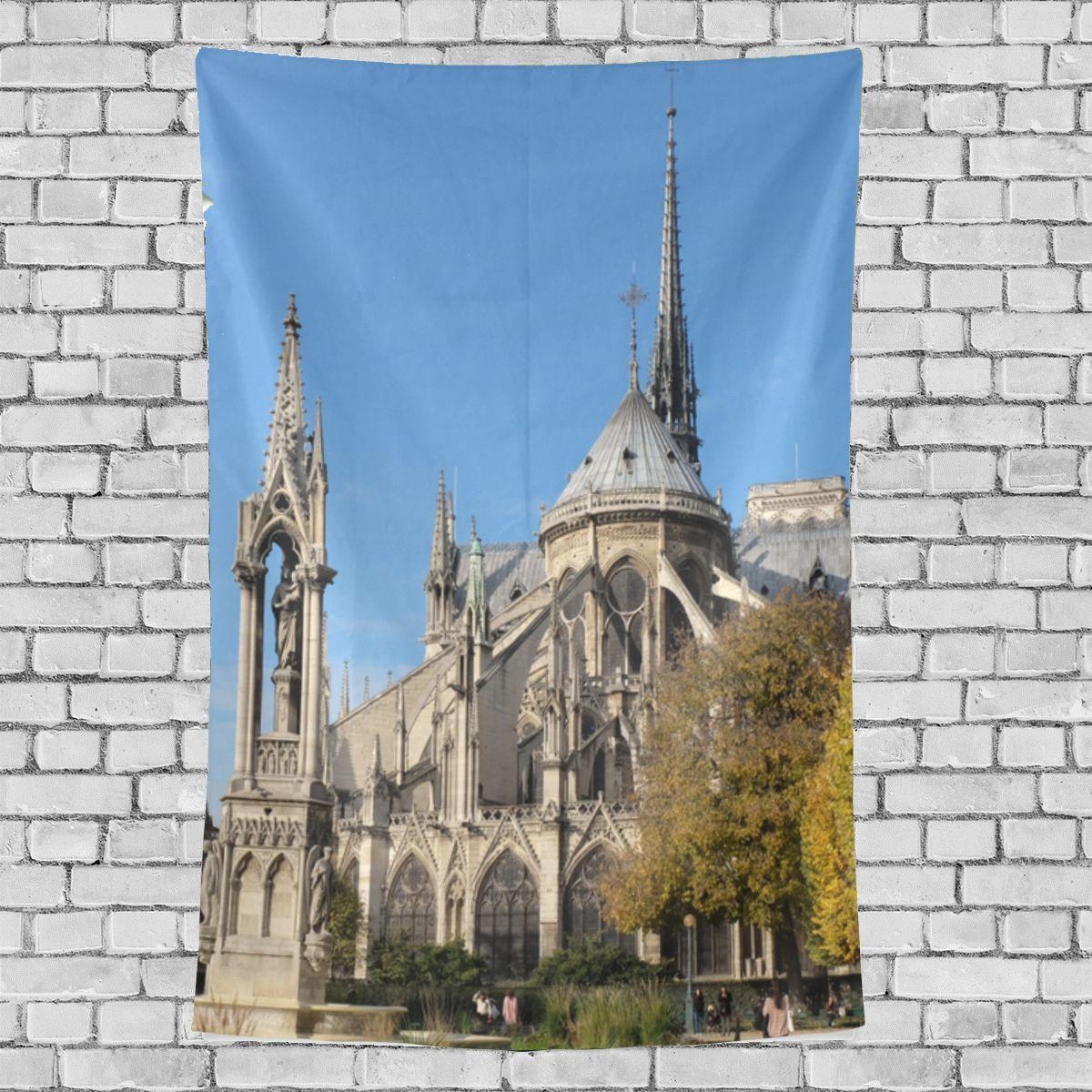 Notre Dame Home Decor: Kitchen Decor Wall Notre Dame De Paris Beauty Autumn
