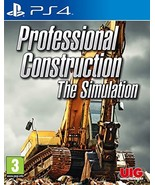 Professional Construction - The Simulation (PS4) - $76.95