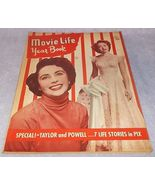 Movie Life Yearbook 1949 Number 9 John Wayne Robert Stack Powell and Taylor - $19.95