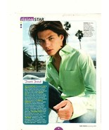 Trent Ford teen magazine pinup clipping How to Deal green shirt Teen People - $2.50