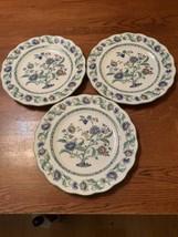 Nikko Oriental Garden Bread & Butter Plate Set Of 3 Plates - $29.99