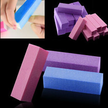 10Pcs Buffing Buffer Block Files Pedicure Sanding Polish Manicure Nail A... - $9.88